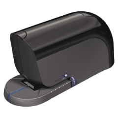 Swingline 42130: Speed Pro Electric Stapler 20 Sheets Capacity 210 Staple Capacity Full Strip 1/4 Staple Size 6 x AA Batteries Battery Included Black