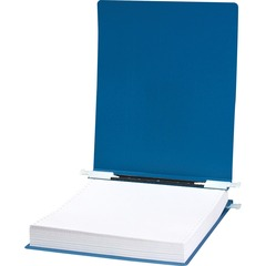 ACCO 56133: ACCO 23 pt. ACCOHIDE Covers with Storage Hooks, for Unburst Sheets, 12 x 8 1/2 Sheet Size, Blue 6 Binder Capacity German Standard Fanfold 8 1/2 x 12 Sheet Size Pressboard B..
