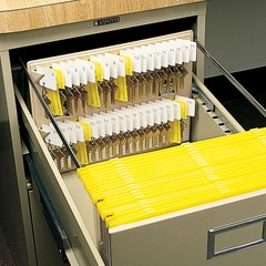 MMF Industries 201304003: File Drawer Key Rack 12 x 1.75 x 10 Sand