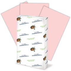 Hammermill 103390: Fore Super Premium Paper 8.50 x 14 20 lb Basis Weight Recycled 30 Recycled Content 500 / Ream Pink