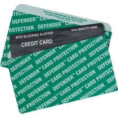 Quality Park 50040: Card Sleeve Green Card Stock