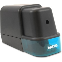X-Acto 19221: Gray Electric Pencil Sharpener Helical Black