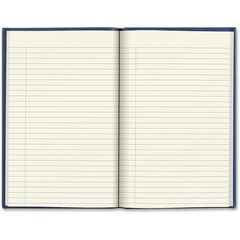 Rediform A800682: Vivella Hardcover Journal 192 Pages 6 x 9.3 Cream Paper Blue Cover Recycled 1Each