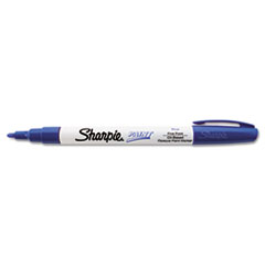 Sharpie 35536: Permanent Paint Marker, Fine Bullet Tip, Blue
