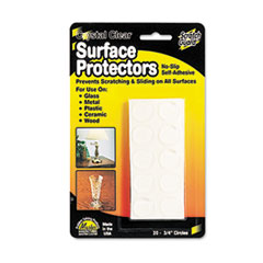 Master Manufacturing 88600: Scratch Guard Surface Protectors, 3/4 Dia, Circular, Clear, 20 / pack