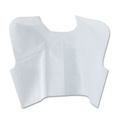 Medline Industries NON24248: Disposable Patient Capes, 3-Ply T / p / t, 30 In. x 21 In., White 100 / carton