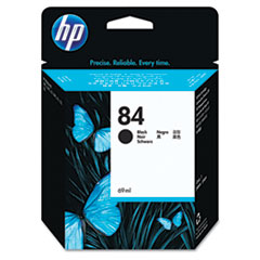 HP C5016A: Hp 84, c5016a Black Original Ink Cartridge
