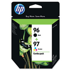 HP C9353FN: 96/97 Original Ink Cartridge Inkjet 560 Pages Color, 860 Pages Black Black, Cyan, Magenta, Yellow