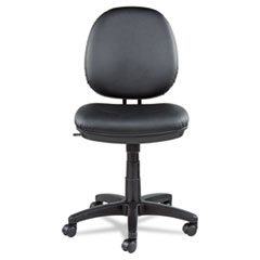 Alera IN4819: Alera Interval Series Swivel / Tilt Task Chair, Supports Up To 275 Lbs., Black Seat / Black Back, Black Base