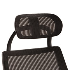 Alera KEHR18: Alera Headrest for K8 Chair, Mesh, Black