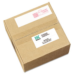 Avery 05288: Permanent Adhesive Postage Meter Labels, 1 1/2 x 2 3/4, White, 160 / pack