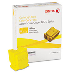 Xerox 108R00952: 108r00952 Solid Ink Stick, 17,300 Page-Yield, Yellow, 6 / box