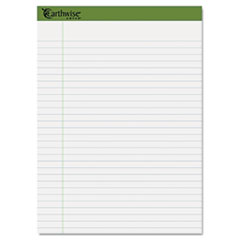 Ampad 40102: Earthwise By Oxford Recycled Pad, Legal Rule, 8.5 X 11.75, White, 40 Sheets, 4 / Pack