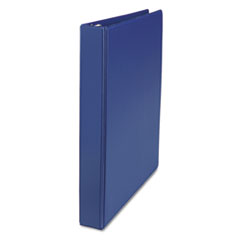 Universal 20765: DELUXE NON-VIEW D-RING BINDER with LABEL HOLDER, 3 RINGS, 1 CAPACITY, 11 x 8.5, ROYAL BLUE