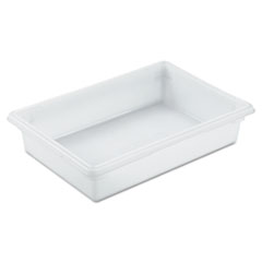 Rubbermaid 3508WHI: Food / tote Boxes, 8.5gal, 26w x 18d x 6h, White