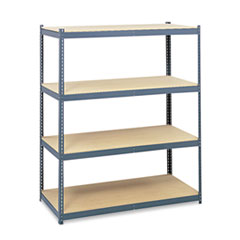 Safco 5260: Steel Pack Archival Shelving, 69w x 33d x 84h, Gray