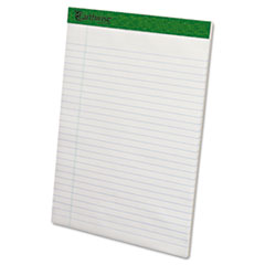 Ampad 20172: Earthwise By Ampad Recycled Writing Pad, 8 1/2 x 11 3/4, White, Dozen