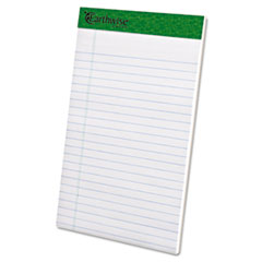 Ampad 20152: Earthwise By Ampad Recycled Writing Pad, Narrow, 5 x 8, White, Dozen