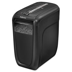 Fellowes 4606001: Powershred 60Cs Cross-Cut Shredder, 10 Manual Sheet Capacity