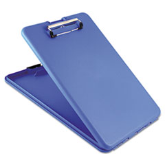 Saunders 00559: Slimmate Storage Clipboard, 1/2 Clip Capacity, Holds 8 1/2 X 11 Sheets, Blue