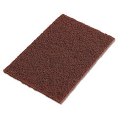 Scotch-Brite 04801116553: Scotch-Brite Hand Pads, Brown, 9 x 6