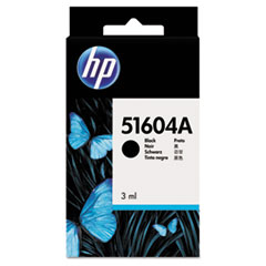 HP 51604A: 51604A 51604A Original Ink Cartridge Single Pack Inkjet 500000 Characters Black 1 Each