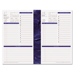 Franklin Covey 3706316: Monticello Dated One-Page-Per-Day Planner Refill, 5 1/2 x 8 1/2, 2018