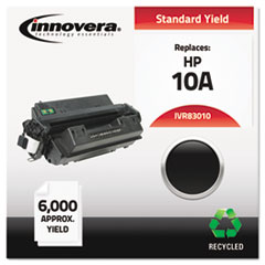 Innovera 83010: Remanufactured Q2610A 10A Toner, 6000 Page-Yield, Black