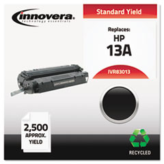 Innovera 83013: Remanufactured Q2613A 13A Toner, 2500 Page-Yield, Black