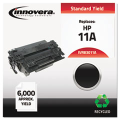 Innovera 83011A: Remanufactured Q6511A 11A Toner, 6000 Page-Yield, Black