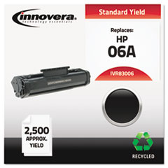 Innovera 83006: Remanufactured C3906a 06a Toner, Black