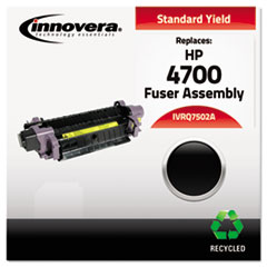 Innovera Q7502A: Remanufactured Q7502A 4700 Fuser, 100000 Page-Yield