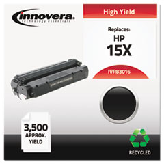 Innovera 83016: Remanufactured C7115X 15X High-Yield Toner, 3500 Page-Yield, Black