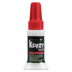 Krazy Glue KG92548R: All Purpose Brush-On Krazy Glue, 0.17 Oz, Dries Clear