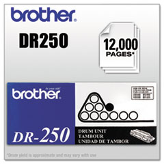 Brother DR250: DR250 Replacement Drum Unit 12000 1 Each