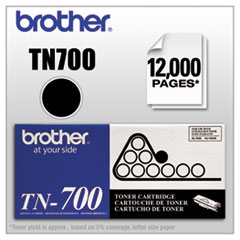 Brother TN700: TN700 Original Toner Cartridge Laser 12000 Pages Black 1 Each