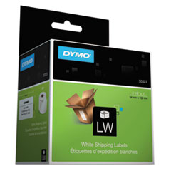DYMO 30323: Labelwriter Shipping Labels, 2.12 X 4, White, 220 Labels / Roll