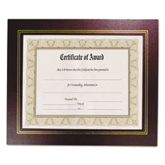Nu-Dell 21200: Leatherette Document Frame, 8-1/2 x 11, Burgundy, Pack Of Two