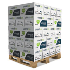Universal 95200PLT: Deluxe Multipurpose Paper, 98 Bright, 20Lb, 8.5 X 11, White, 500 Sheets / Ream, 10 Reams / Carton, 40 Cartons / Pallet