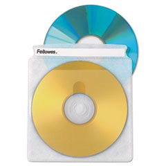 Fellowes 90661: Two-Sided Cd / dvd Sleeve Refills for Softworks File, 25 / pack