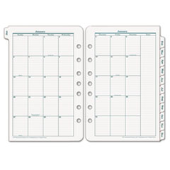 Franklin Covey 3539916: Original Dated Monthly Planner Refill, January-December, 5 1/2 x 8 1/2, 2018