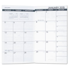 at a glance 70 906 10 pocket size monthly planner refill 3 1 2 x 6