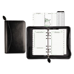 Day-Timer 41746: Recycled Bonded Leather Starter Set, 8 4/5 x 5 1/2 x 1 1/2, White