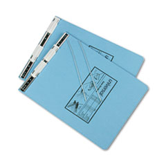 Universal 15431: Pressboard Hanging Binder, 2 Posts, 6 Capacity, 9.5 X 11, Light Blue