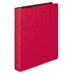 ACCO 38619: Presstex Round Ring Binder, 3 Rings, 1 Capacity, 11 X 8.5, Executive Red