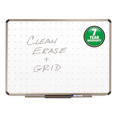 Quartet TE564T: Quartet Prestige Total Erase Whiteboard 48 4 ft Width x 36 3 ft Height White Surface Titanium Aluminum Frame Horizontal 1 Each