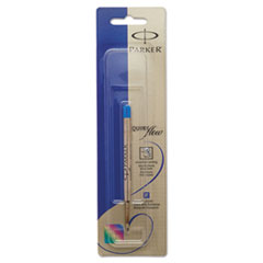 Parker 1950371: REFILL for PARKER BALLPOINT PENS, MEDIUM POINT, BLUE INK