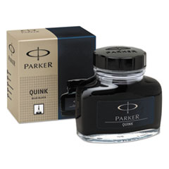 Parker 3007100: Super Quink Permanent Ink for Parker Pens, 2 Oz Bottle, Blue / black