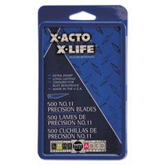 X-Acto X511: No. 11 Bulk Pack Blades for X-Acto Knives, 500 / box