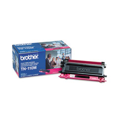 Brother TN110M: Tn110M Toner, 1500 Page-Yield, Magenta
